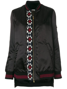 куртка-бомбер с вышивкой Bazar Deluxe