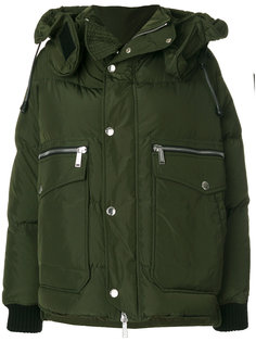 дутая куртка с капюшоном  Dsquared2