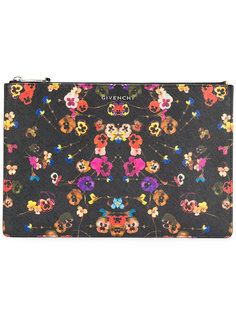 клатч с цветочным принтом Givenchy