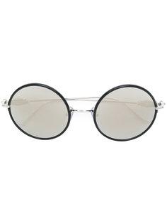 круглые солнцезащитные очки Chrome Hearts
