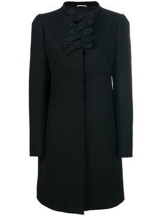 пальто с бантами Rochas