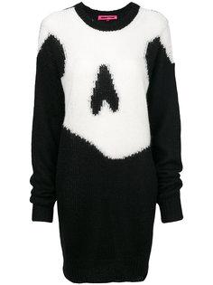 трикотажное платье  McQ Alexander McQueen