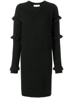 платье-свитер с оборками Michael Michael Kors