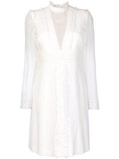 платье с кружевной отделкой Giambattista Valli