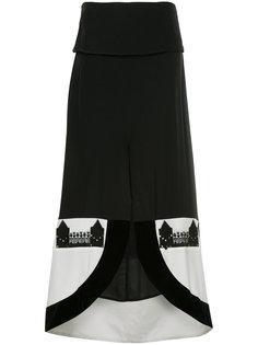 пышная юбка с закругленными краями Zeus+Dione
