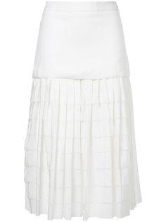 юбка в складку с завышенной талией Zeus+Dione