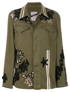 куртка с вышивкой History Repeats