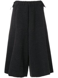 широкие укороченные брюки  Boboutic