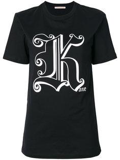 футболка Gothic K Christopher Kane