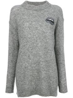 свитер с вышивкой Lara Lip Daisy Markus Lupfer