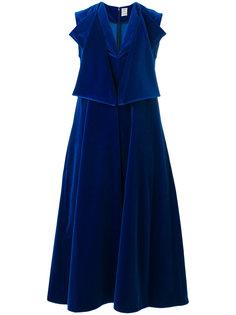 расклешенное платье Maison Rabih Kayrouz