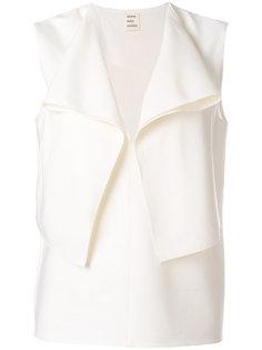 блузка с оборками Maison Rabih Kayrouz