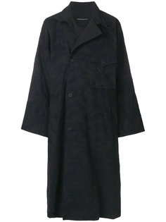 пальто с запахом Yohji Yamamoto