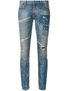 джинсы с рваной отделкой Faith Connexion
