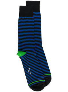 полосатые носки Paul Smith