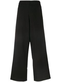 широкие брюки с вышивкой  Ys Y`s