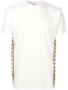 футболка с полоской с логотипом по бокам Kappa