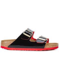 лакированные сандалии с пряжками Birkenstock