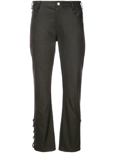 laced hem trousers Nomia