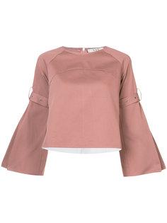 блузка с плиссированной спинкой Sea