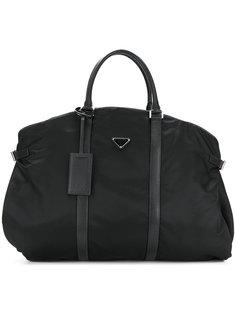 спортивная сумка с логотипом Prada