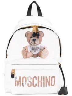 рюкзак с изображением медведя Moschino