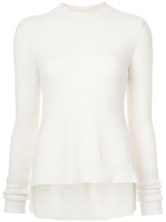 ribbed godet pullover Rosetta Getty