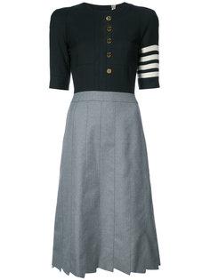платье Trompe Loeil Thom Browne