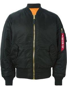 куртка-бомбер свободного кроя Alpha Industries