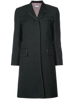 пальто с контрастной оторочкой Thom Browne