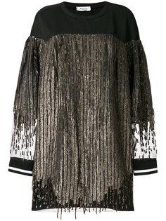 платье-свитер с пайетками Aviù