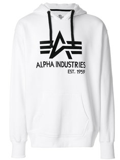 толстовка с логотипом Alpha Industries