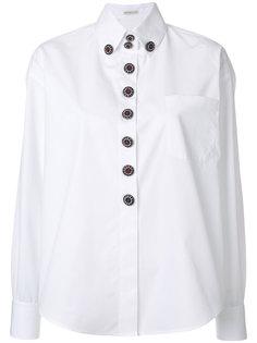 рубашка с крупными пуговицами Etro
