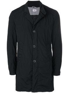 однобортное пальто CP Company