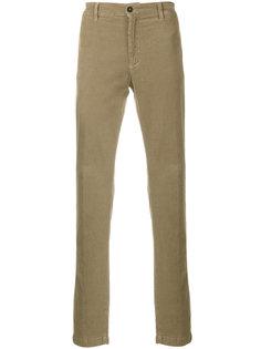 классические текстурированные брюки Massimo Alba