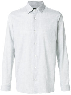 классическая рубашка с мелким узором Z Zegna