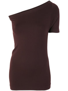 асимметричная блузка  Helmut Lang