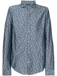 классическая рубашка с узором Armani Jeans