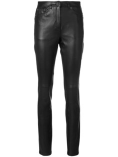 брюки скинни с панельным дизайном Neil Barrett
