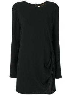 присборенное платье  Saint Laurent