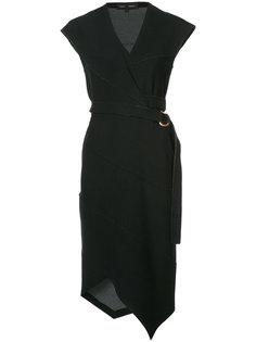 асимметричное приталенное платье Proenza Schouler