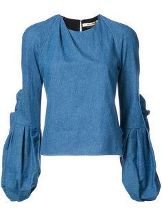 блузка Sage с пышными рукавами Hellessy