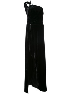 asymmetric maxi dress Mugler