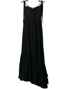 длинное свободное платье  Ann Demeulemeester