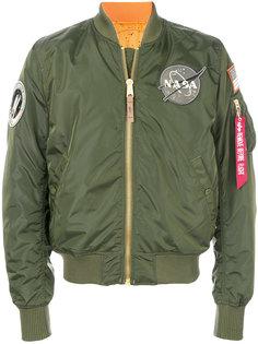 куртка бомбер Nasa Alpha Industries