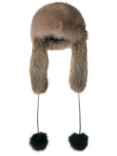 шапка из лисьего меха Daniela Pancheri