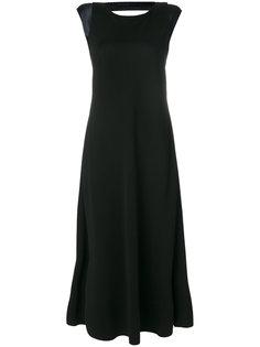 платье с глубоким V-образным вырезом  Giorgio Armani