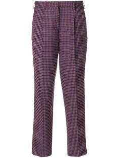 укороченные брюки с завышенной талией Etro
