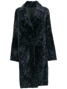 двустороннее двухцветное пальто Drome