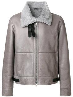 пальто с меховой подкладкой Jil Sander